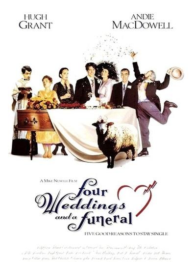 1994高分喜剧爱情《四个婚礼和一个葬礼》BD720P.国英双语.中英双字